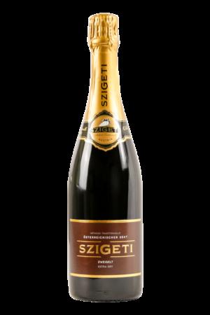 Szigeti Neusiedlersee Sekt Zweigelt Extra Dry Weinshop-SANTO