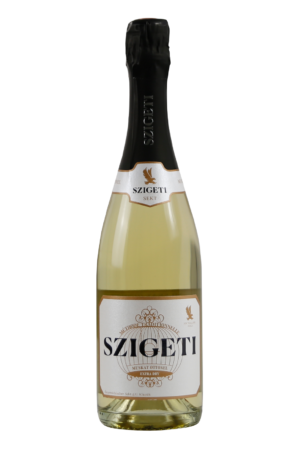 Szigeti Neusiedlersee Sekt Muskat Ottonel Extra Dry Weinshop-SANTO