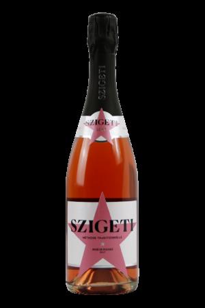 Szigeti Neusiedlersee Sekt Rosé de Rouges Brut Weinshop-SANTO