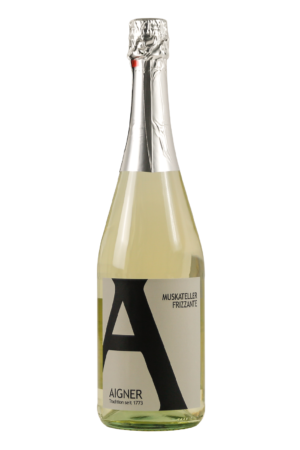 Aigner Kremstal Schaumwein Muskateller Frizzante Weinshop-SANTO