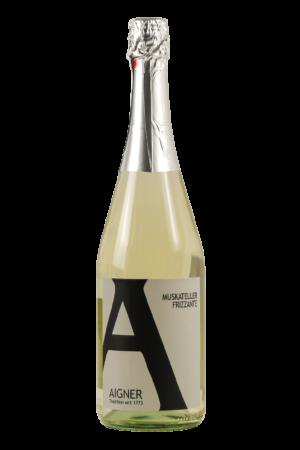 Wein-SchaumweineFrizzante-Aigner-Kremstal-Muskateller Frizzante