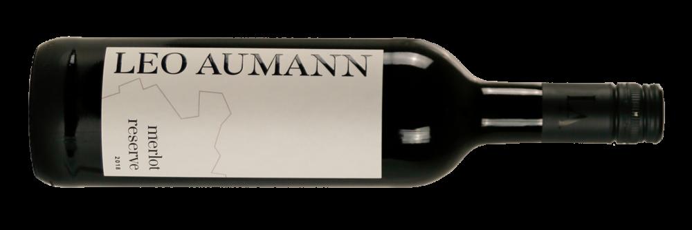 Wein-RotweineMerlot-Aumann-Thermenregion-Merlot Reserve