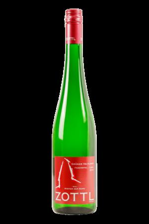 Wein-WeißweineGrüner Veltliner-Zottl-Wachau-Grüner Veltliner Federspiel Ried Hinter der Burg