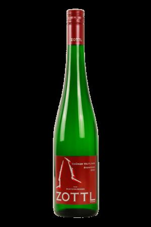 Wein-WeißweineGrüner Veltliner-Zottl-Wachau-Grüner Veltliner Steinfeder Ried Hinterkirchen