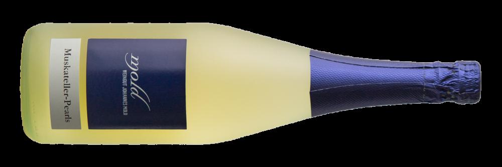 Wein-SchaumweineFrizzante-Mold-Weinviertel-Muskateller-Pearls Frizzante
